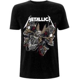 METALLICA Skull Moth, Tシャツ