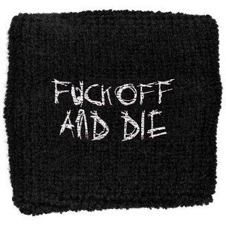 DARKTHRONE Fuck Off And Die, リストバンド