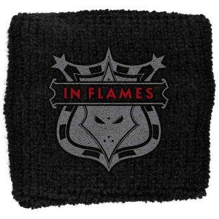 IN FLAMES Shield, リストバンド