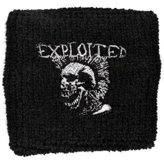 THE EXPLOITED Mohican Skull, リストバンド