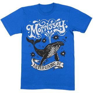 MORRISSEY Never Giving In/Whale, Tシャツ