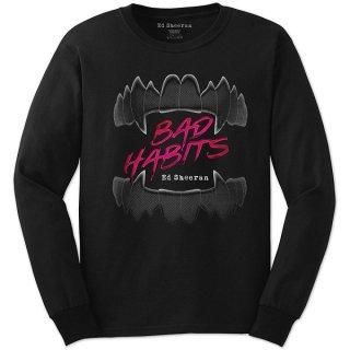 ED SHEERAN Bad Habits, ロングTシャツ
