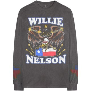 WILLIE NELSON Texan Pride, ロングTシャツ