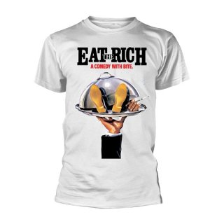 COMIC STRIP PRESENTS Eat The Rich Wht, Tシャツ