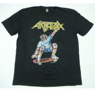 ANTHRAX Spreading Skater Notman Vintage, Tシャツ
