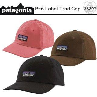 patagonia P-6 ラベル・トラッド・キャップ -P-6 Label Trad Cap- #38207