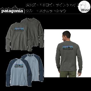 patagonia メンズ・P-6 ロゴ・ライトウェイト・クルー・スウェットシャツ #39550