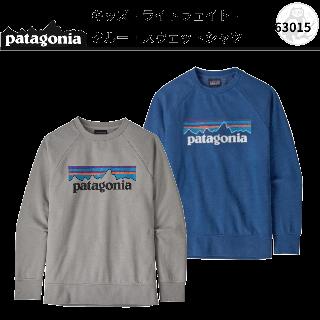 patagonia キッズ・ライトウェイト・クルー・スウェットシャツ #63015