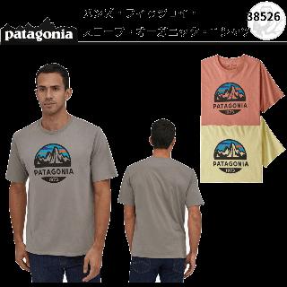 patagonia メンズ・フィッツロイ・スコープ・オーガニック・Tシャツ #38526