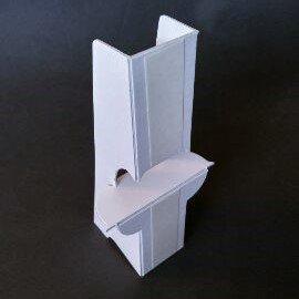紙製パネルスタンドH150