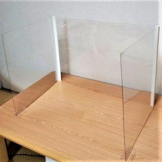 コの字型パーテーション(折りタタミ式)