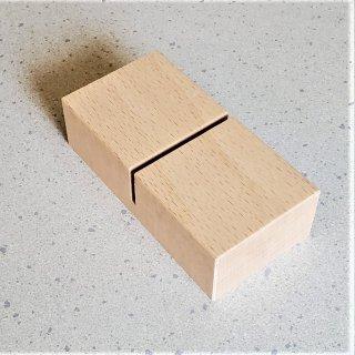 木製プレートスタンド(ミゾ幅3ミリ)