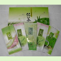 煎茶詰合せ「錦松竹梅」100g5袋箱入