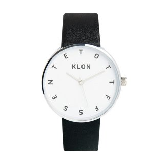 KLON ALPHABET TIME BLACK 40mm