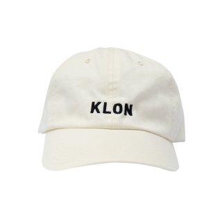 KLON CAP LOGO WHITE
