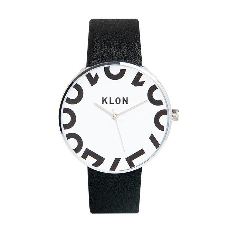 KLON HIDE TIME BLACK -ONE DIGIT- 40mm