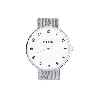 KLON MOCK NUMBER -SILVER MESH- 40mm