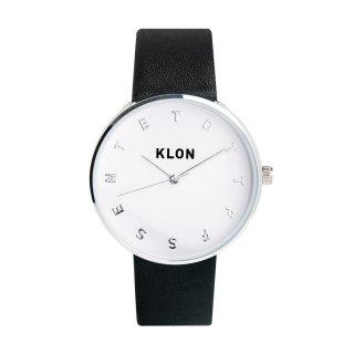 KLON ALPHABET TIME BLACK Ver.SILVER 40mm