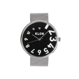 KLON EDDY TIME -SILVER MESH-【BLACK SURFACE】40mm