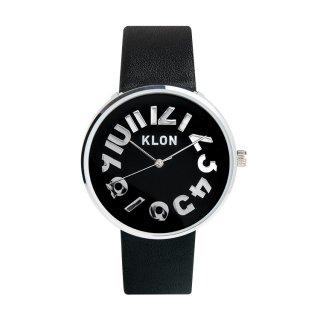 KLON HIDE TIME BLACK【BLACK SURFACE】Ver.SILVER 40mm