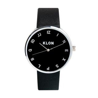 KLON MOCK NUMBER BLACK【BLACK SURFACE】Ver.SILVER 40mm