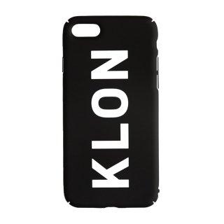 【iPhone 7,8,X,Xs 対応】KLON iPhone CASE LOGOTYPE L BLACK