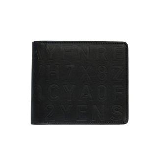 KLON 2 FOLD WALLET BLACK