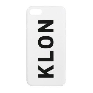 【iPhone 7,8,X,Xs 対応】KLON iPhone CASE LOGOTYPE L WHITE