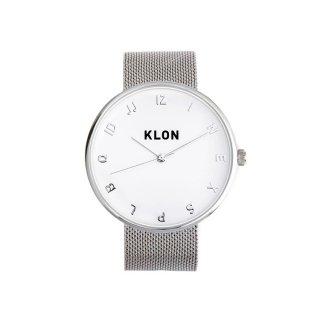 KLON MOCK NUMBER -SILVER MESH- Ver.SILVER 40mm