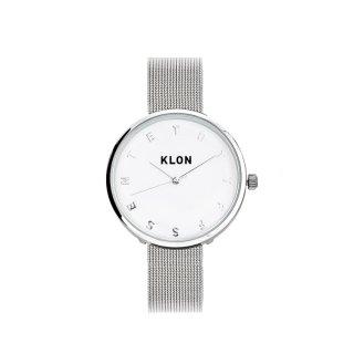 KLON ALPHABET TIME -SILVER MESH- Ver.SILVER 33mm