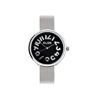 KLON HIDE TIME -SILVER MESH-【BLACK SURFACE】Ver.SILVER 33mm
