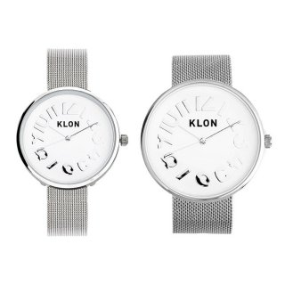 【組合せ商品】KLON HIDE TIME -SILVER MESH- Ver.SILVER(40mm×33mm)
