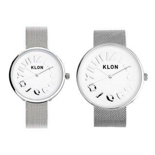 【組合せ商品】KLON HIDE TIME -SILVER MESH- Ver.SILVER(40mm×33mm)