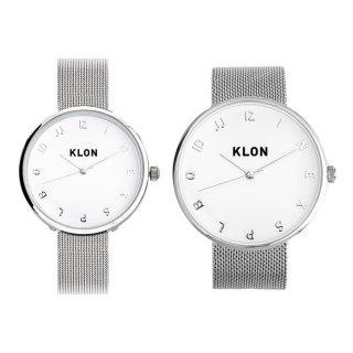 【組合せ商品】KLON MOCK NUMBER -SILVER MESH- Ver.SILVER(40mm×33mm)