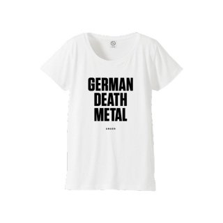 UNGER GERMAN DEATH METAL (WOMENS WHITE)