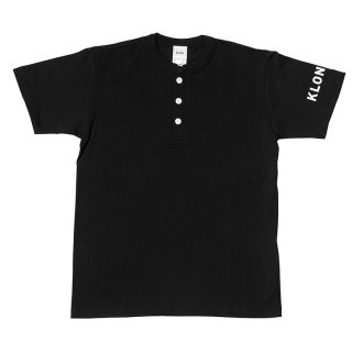 KLON HENRY NECK T-SHIRTS BLACK