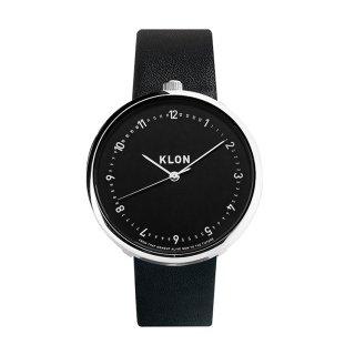 KLON EDUCATE TIME BLACK【BLACK SURFACE】40mm