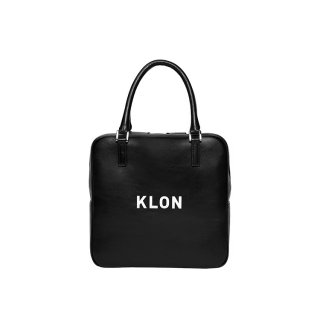 KLON ACTIVE LEATHER BAG SQUARE TYPE BLACK