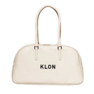 KLON ACTIVE LEATHER BAG BOSTON TYPE WHITE