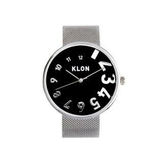 KLON EDDY TIME -SILVER MESH-【BLACK SURFACE】Ver.SILVER 40mm