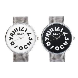 【組合せ商品】KLON HIDE TIME -SILVER MESH- PAIR WATCH 40mm