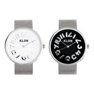 【組合せ商品】KLON HIDE TIME -SILVER MESH- Ver.SILVER PAIR WATCH 40mm