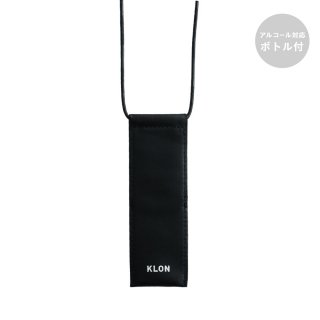 KLON LEATHER STICK CASE BLACK
