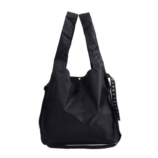 KLON ACTIVE HANG LINE SHOULDER MARCHE BAG BLACK