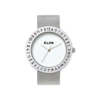 KLON ENGRAVE TIME -SILVER MESH- 40mm