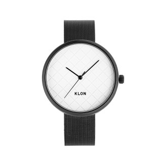 KLON DIAGONAL GRID TIME -BLACK MESH- 38mm