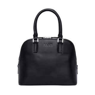 KLON ACTIVE LEATHER BAG -VNM- ROUND TYPE BLACK