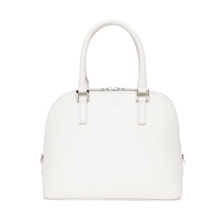 KLON ACTIVE LEATHER BAG -VNM- ROUND TYPE WHITE