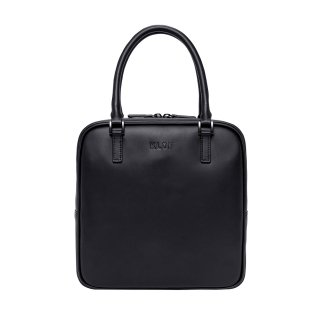 KLON ACTIVE LEATHER BAG -VNM- SQUARE TYPE BLACK × BLACK