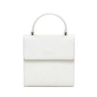 KLON ACTIVE LEATHER BAG -VNM- FLAP TYPE WHITE